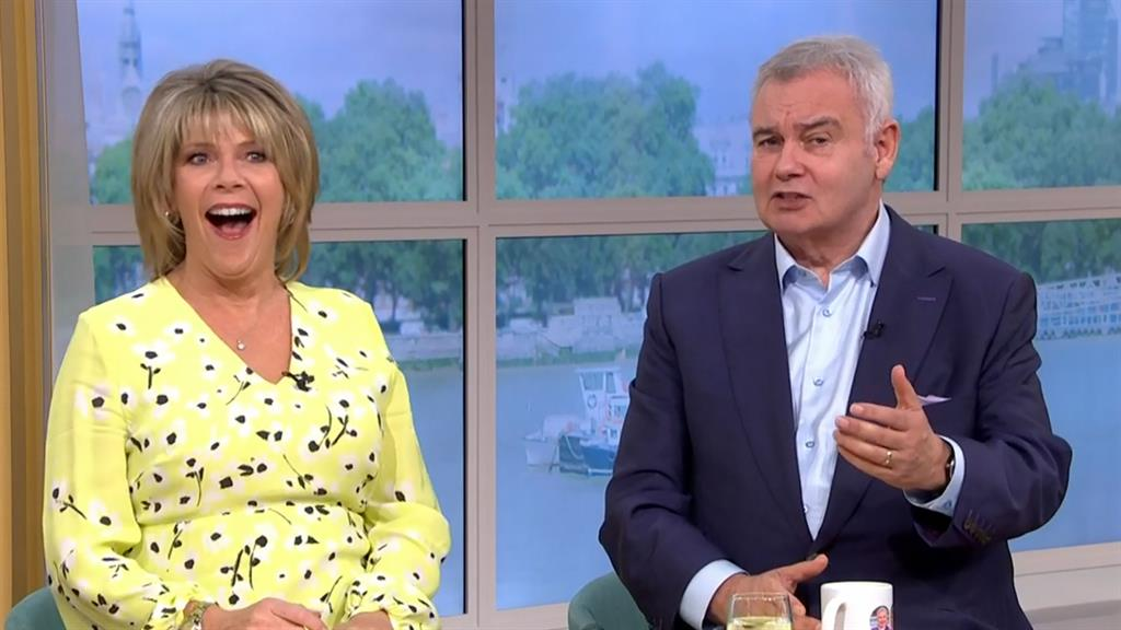 Screen team: Ruth Langsford says she and hubby Eamonn Homes argue, but have a strong marriage PICTURE: ITV/REX