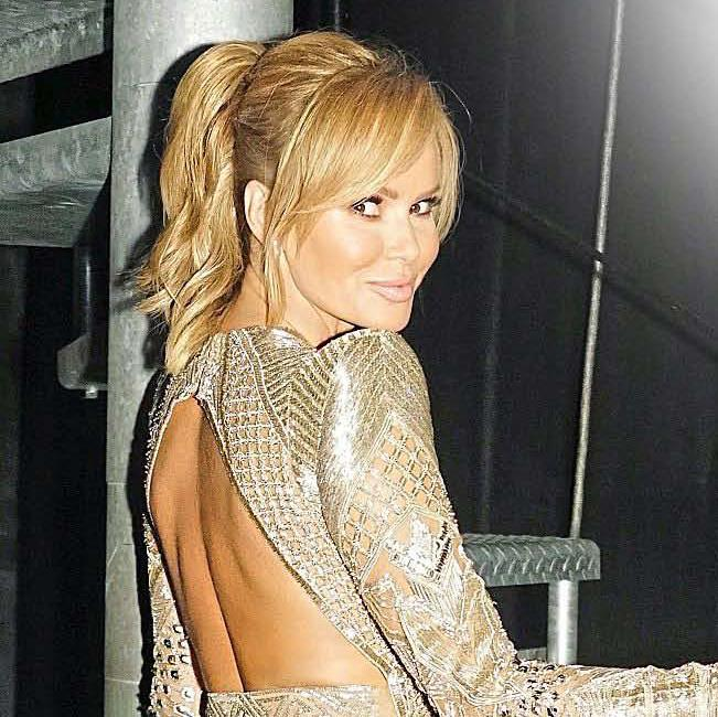 That's a dress: Amanda Holden's debut album Songs From The Heart is out next month