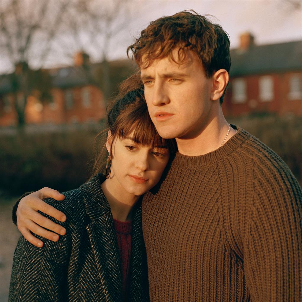 Up for awards: Normal People stars Daisy Edgar-Jones and Paul Mescal PICTURE: BBC