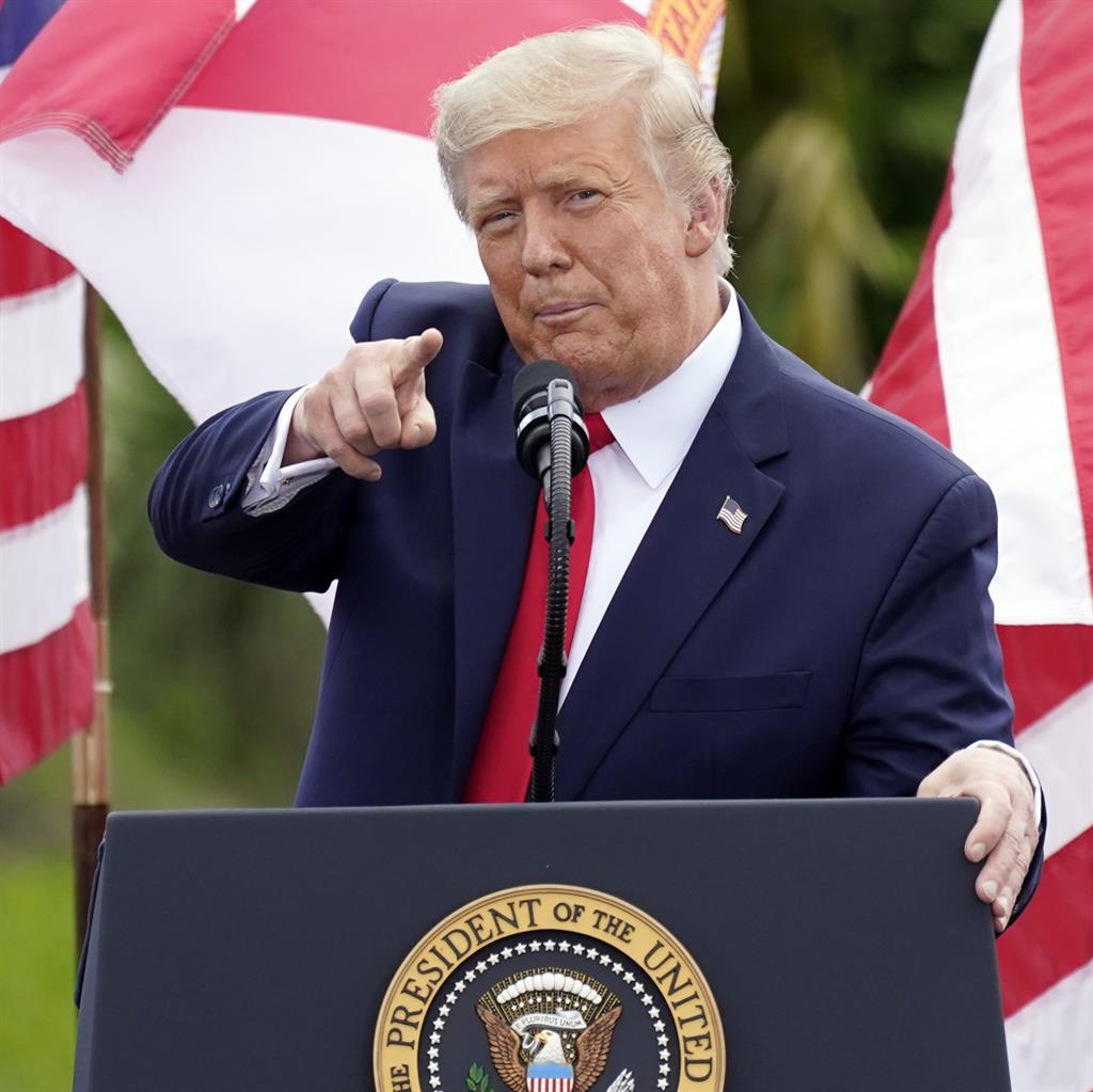 Accusations: Donald Trump PICTURE: AP