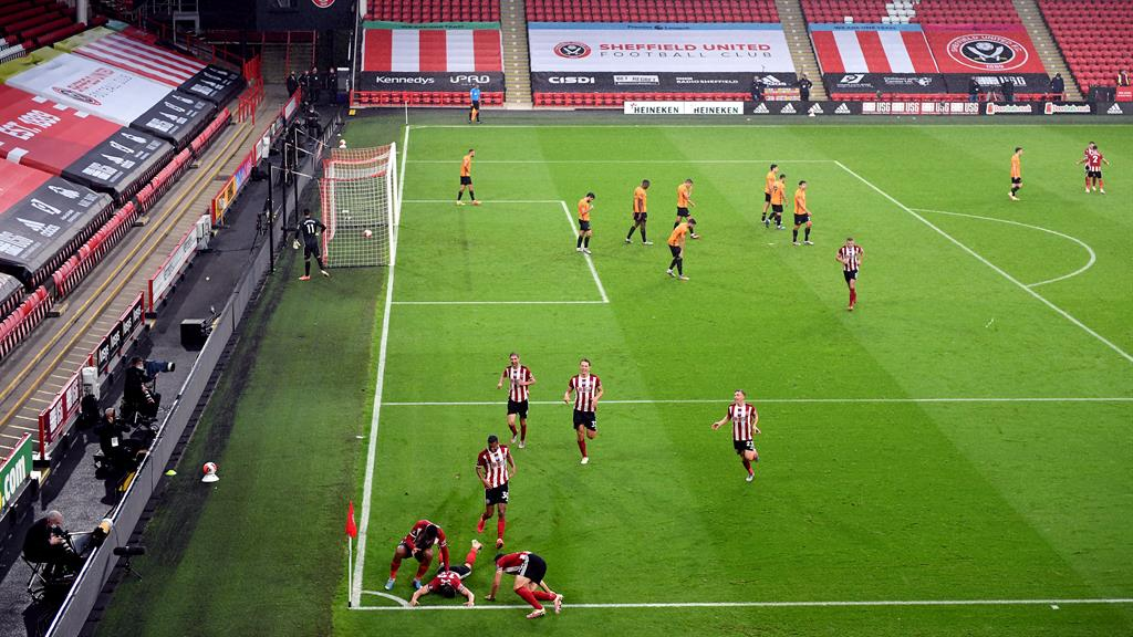 The new normal: Sheffield United and Wolves resume hostilities without a crowd on Monday
