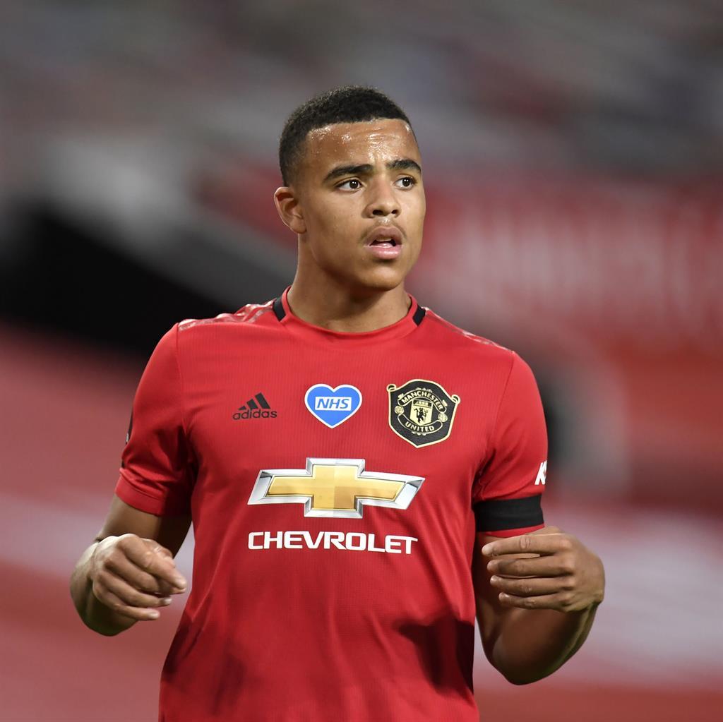 Man United's Solskjaer blasts Southgate over handling of Mason Greenwood