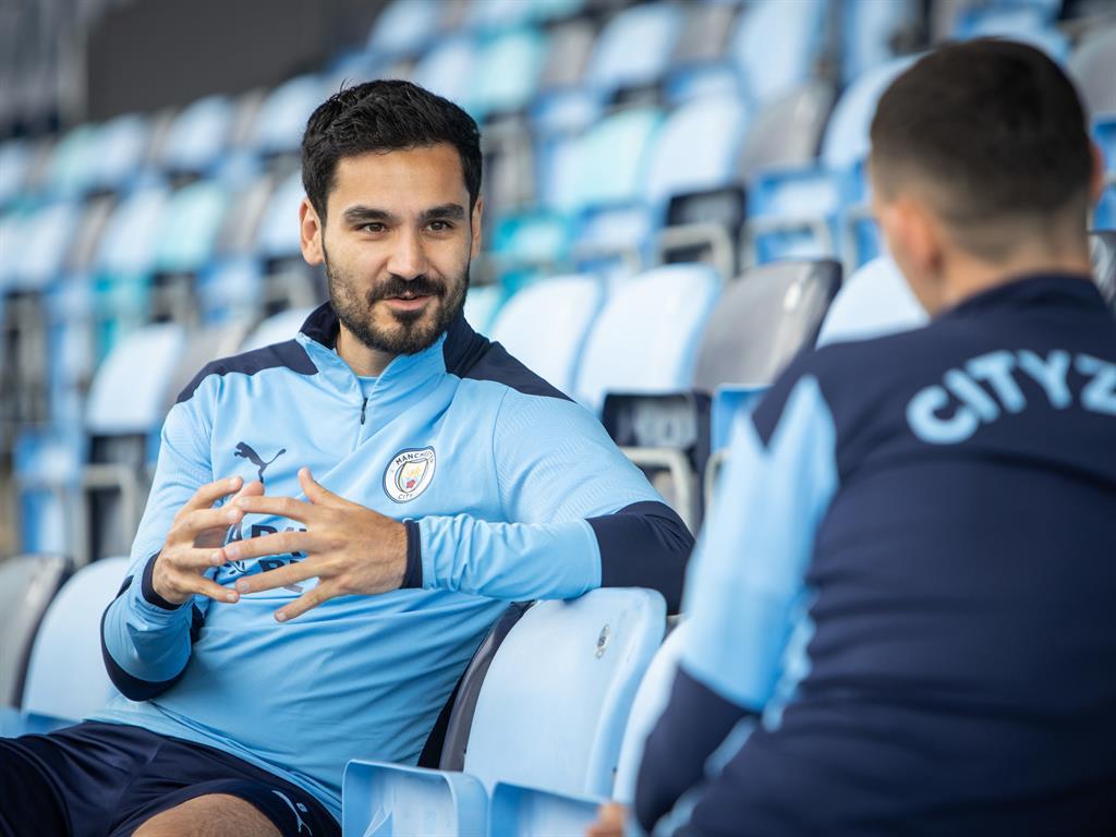 Tested positive Manchester City's Ilkay Gundogan