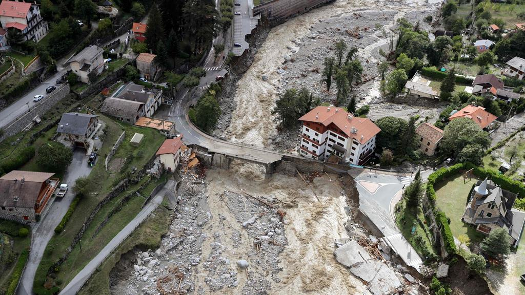 Deadly flooding in Italy and France