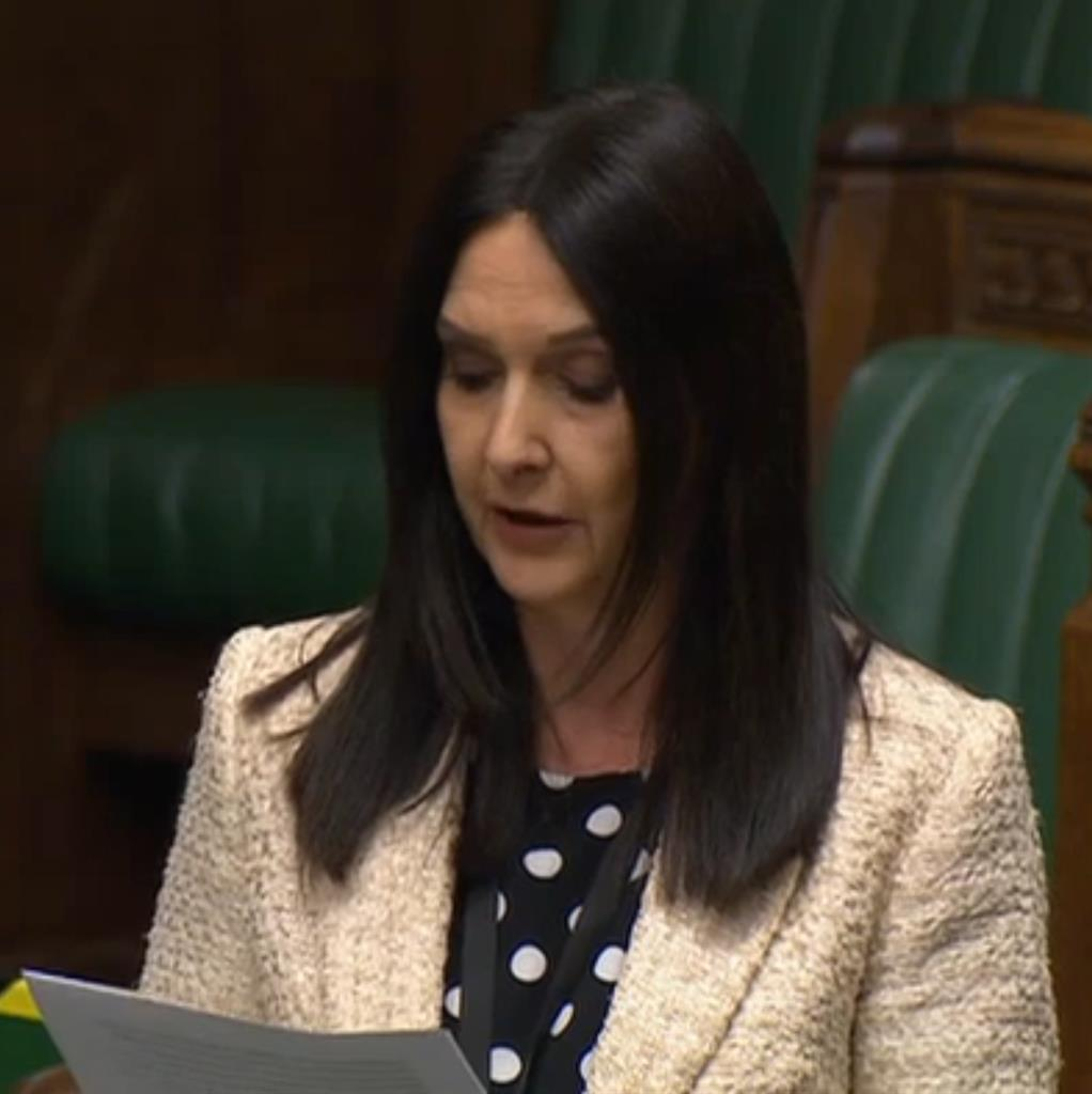 'Reckless': Margaret Ferrier speaking in parliament after she displayed symptoms of the virus