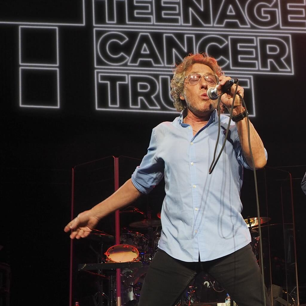 Who Are You: TCT patron and The Who frontman Roger Daltrey in 2015