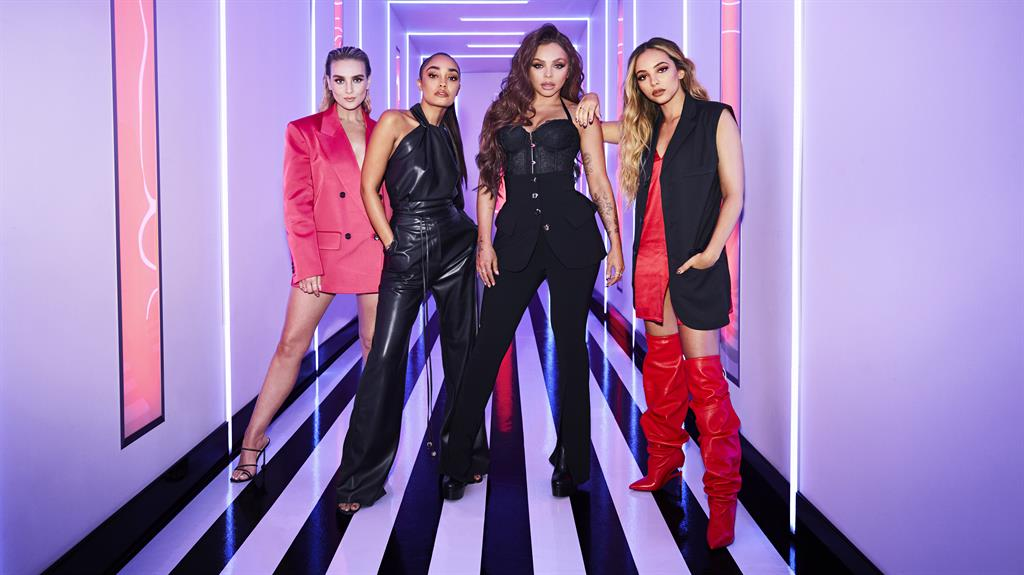 In the Mix: (l-r) Perrie Edwards, Leigh-Anne Pinnock, Jesy Nelson and Jade Thirwall PICTURE: BBC