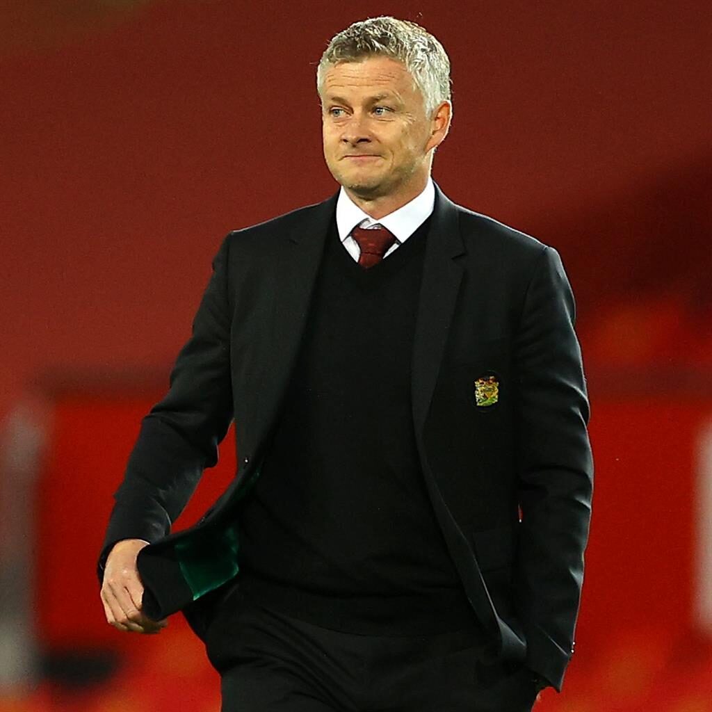 Backing: Solskjaer has given his support to Maguire