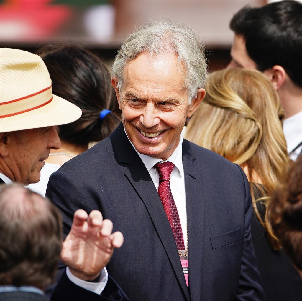 Tony Blair denies a breach of quarantine after U.S. trip