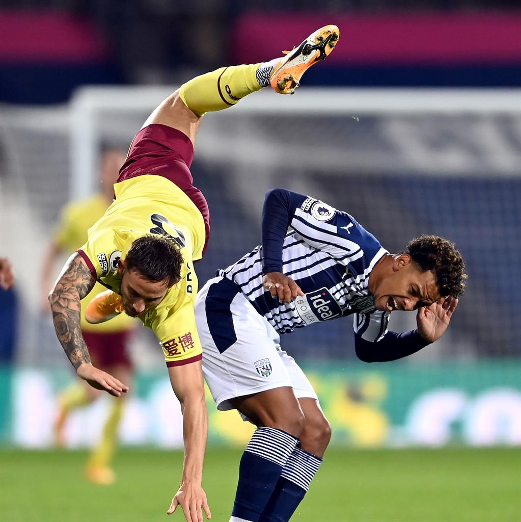 West Brom hold Burnley to battling 0-0 draw