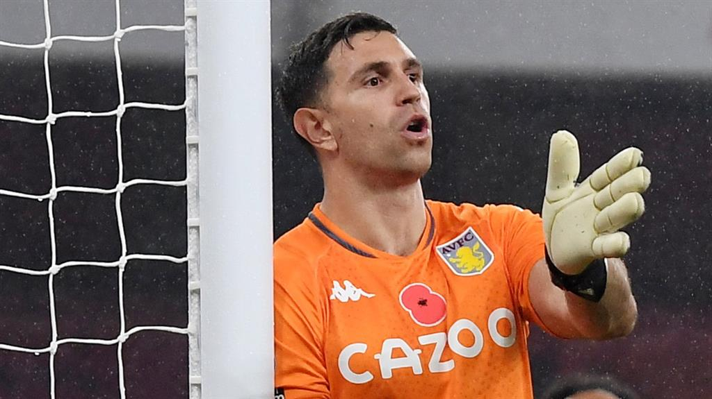 Emiliano Martinez outlines European ambitions for high-flying Aston Villa