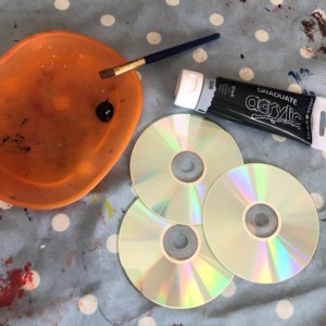 Material for CD painting