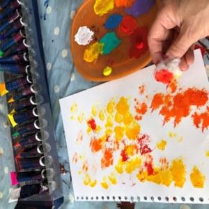Light colour prints