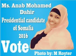 Somalia: U.S. woman launches bid to become president ofSomalia