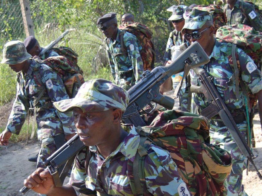INTERVENTION A BLUNDER? Kenya Defence Forces soldiers in Somalia on September 30, 2012