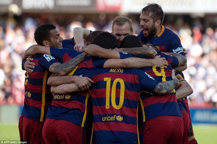 Барселона голы 2016