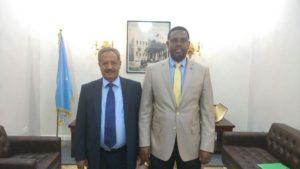 Muqdisho: Danjiraha cusub ee Yemen oo waraaqihii aqoonsiga laga gudoomay