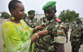 Burundi oo ciidamadeeda qeybta ka ah AMISOM kala baxeysa Soomaaliya