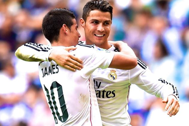 C.ronaldo and James Rodriguez