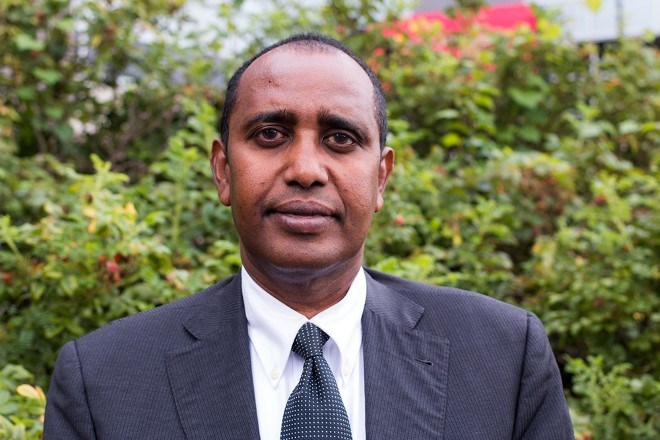 Somali-Canadian Economist Abdulqafar Abdullahi has been named to Carleton University's list of the most 75 distinguished alumni from the Faculty of Public Affairs. PHOTO: Courtesy Carleton/FPA