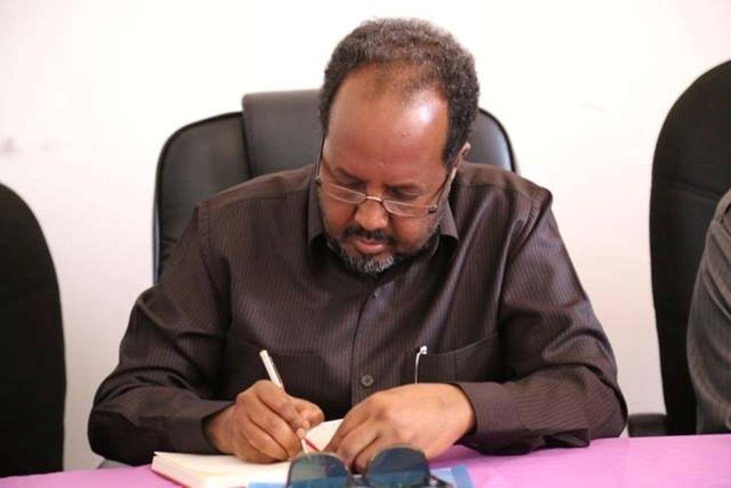 Somali President Hassan Sheikh Mahamoud