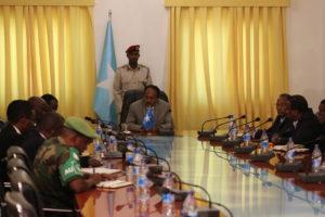 Somali President pledges to work with AMISOM to defeat Al-Shabaab