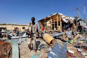 Blast in Somalia Kills 34 in Mogadishu Marketplace