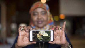 U.S. woman shocked refuge-seeking friend walked to Canada