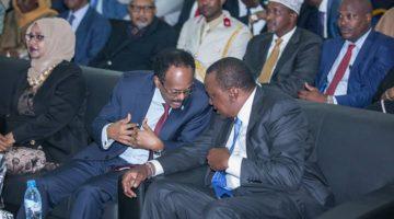 Madaxweynayaasha Soomaaliya & Kenya oo maanta Nairobi ku kulmaya