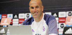 Zidane oo soo saaray shaxda uu caawa kala hor tegi doono Deportivo