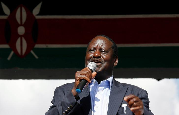 Raila Odinga chosen to challenge president in Kenya vote
