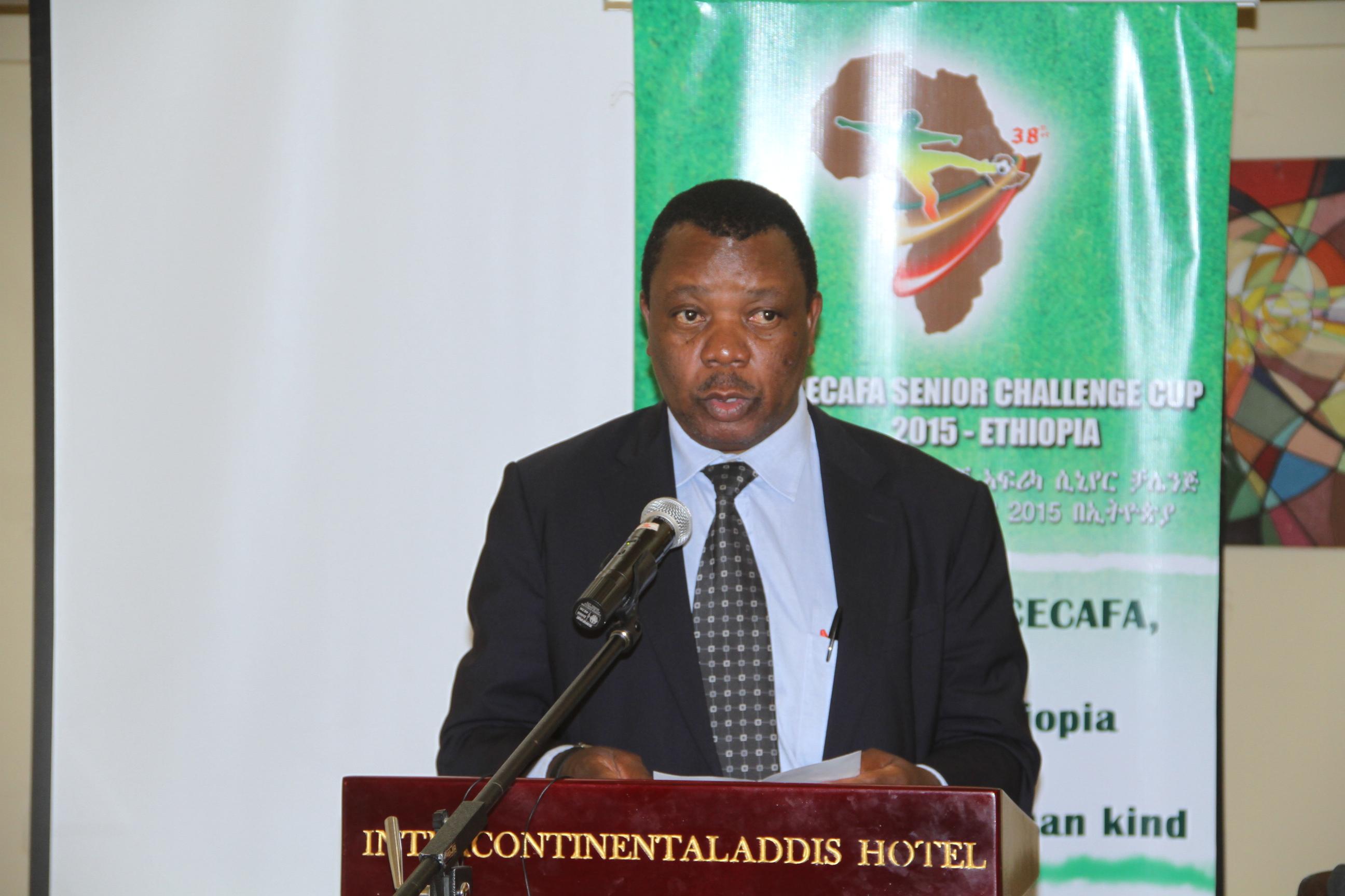 CECAFA General Secretary Nicholas Musonye FILE PHOTO CECAFA MEDIA