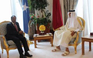 Doha: Maxaa kasoo baxay kulankii ay wada qaateen Amiirka Qadar & M/weynaha Soomaaliya?