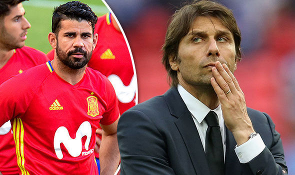 Diego Costa's agent refuses to rule out AC Milan switch