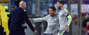 Ronaldo oo Ramos u sheegay inuusana ka laabaneen go'aanka uu Real kaga tagayo