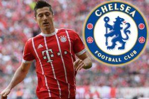 Chelsea oo u dhaqaaqday Lewandowski