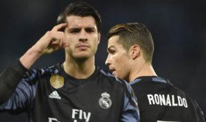 Mourinho oo kala doortay Morata iyo Cristiano Ronaldo
