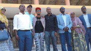 Mogadishu: Fanaaniin uu hogaaminayo Cabdi Holland oo Muqdisho soo gaaray+Video