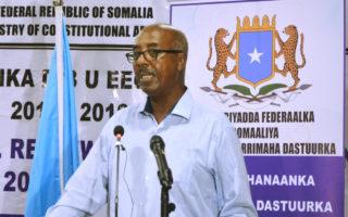 Somalia: Shirweynaha Dastuurka oo maanta ka furmayo Kismaayo