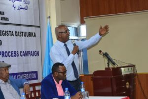 Somalia : Constitutional reviewing conference will be opening in Kismayo