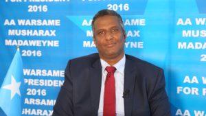 Somalia :C/raxmaan Cabdi Shakuur oo dardaaran adag u diray mucaaradka Soomaaliyeed