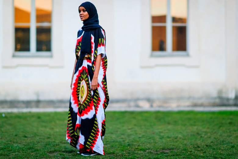 Model Halima Aden in the Baati Photo: Jonathan Paciullo / Frenchy Style