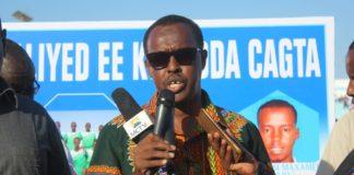 Somali Football Federation president, Abdiqani Said Arab