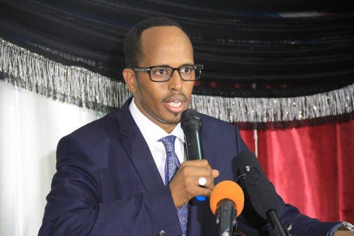 Mogadishu Mayor Thabet Abdi Mohamed