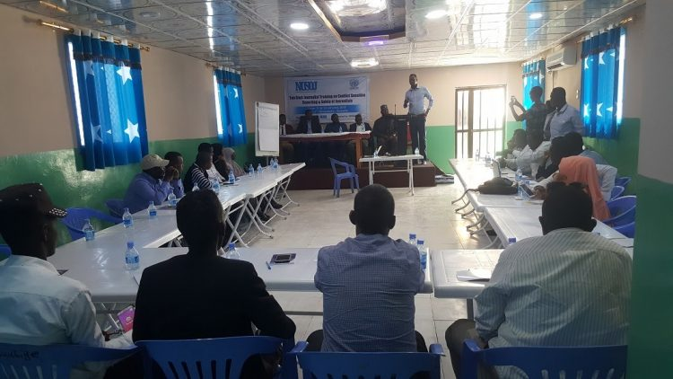 NUSOJ training for journalists in regional states on conflict in Jowhar
