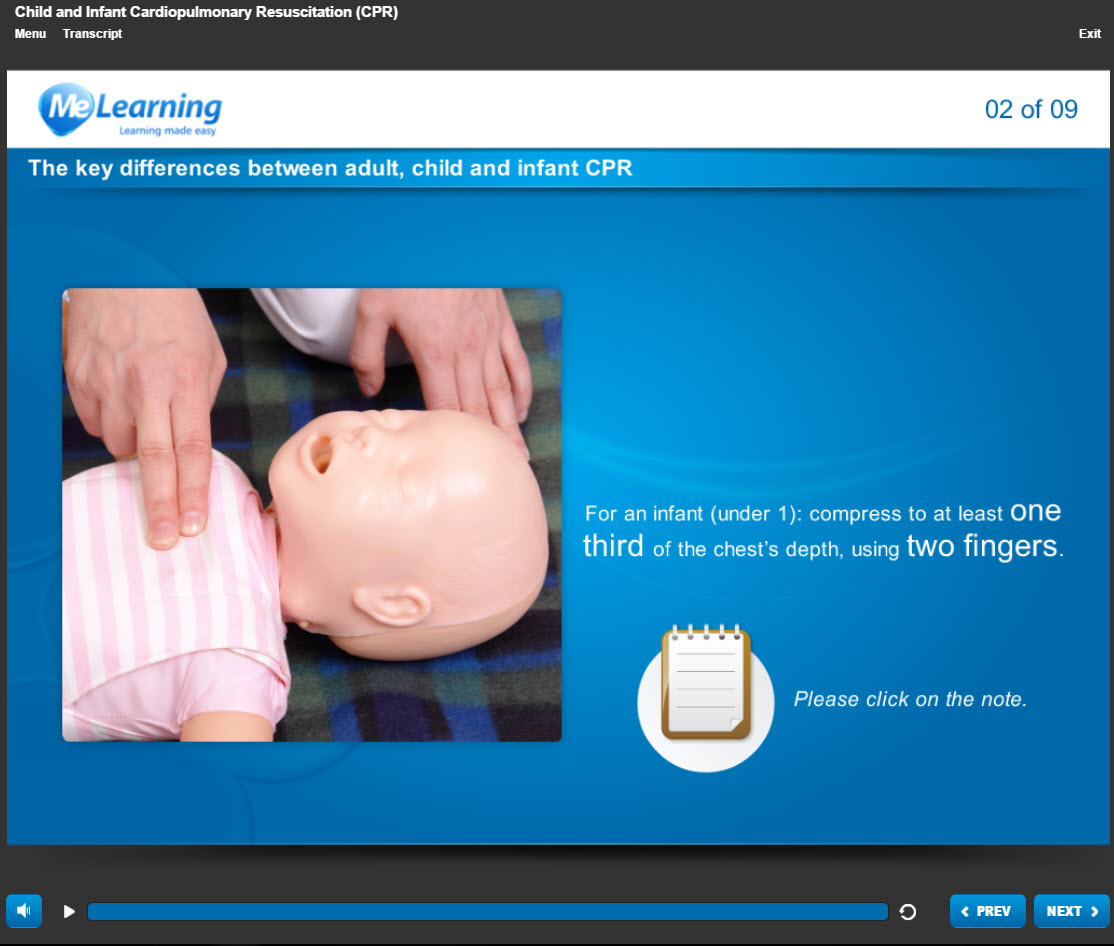 Basic Life Support (BLS) - for Health and Social Care Course Slide 2 of 9