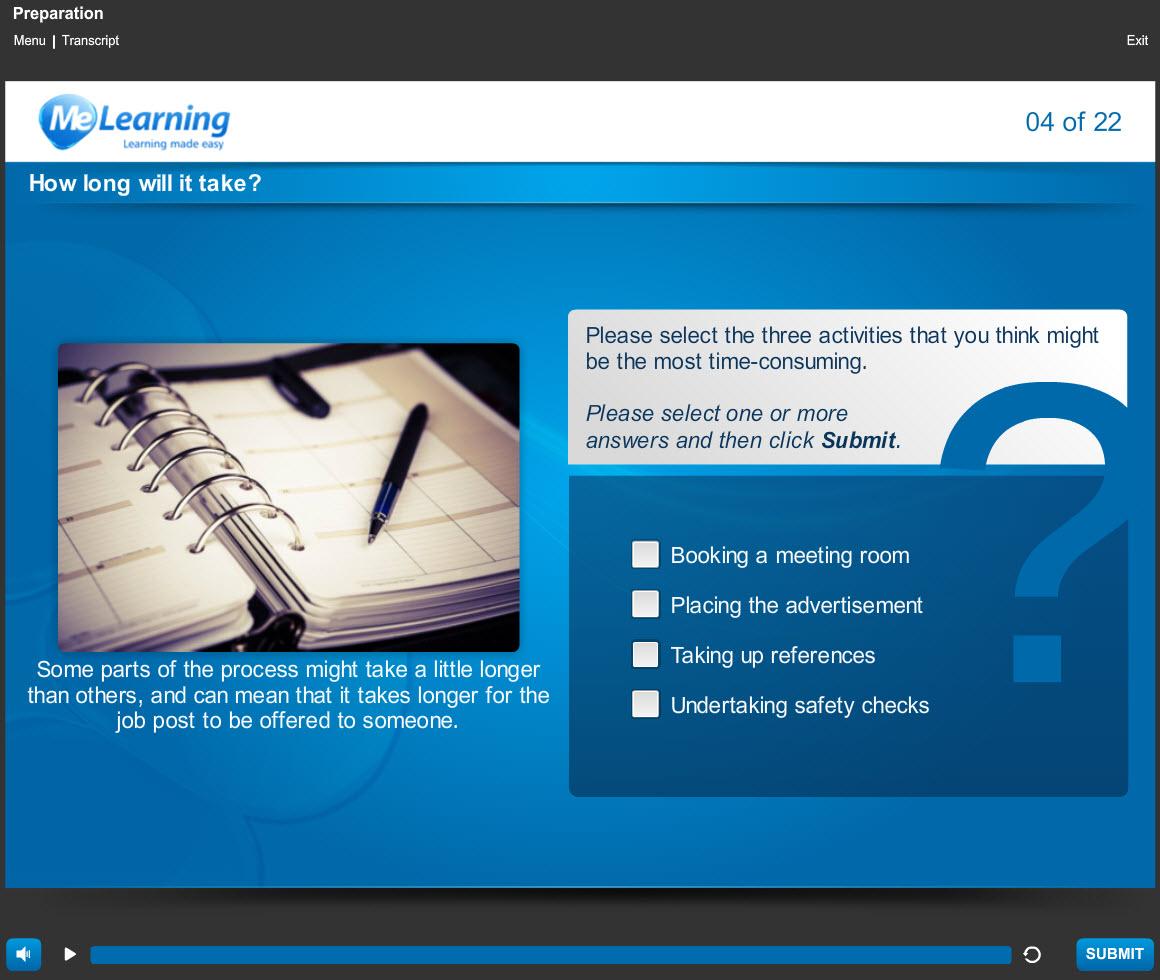 Safer Recruitment Course Slide 4 of 22