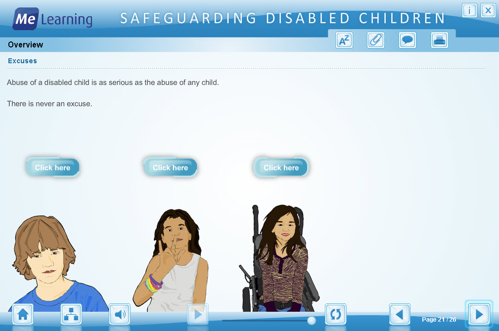Safeguarding Children with Disabilities Course Slide 21 of 26