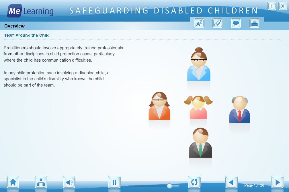 Safeguarding Children with Disabilities Course Slide 16 of 26