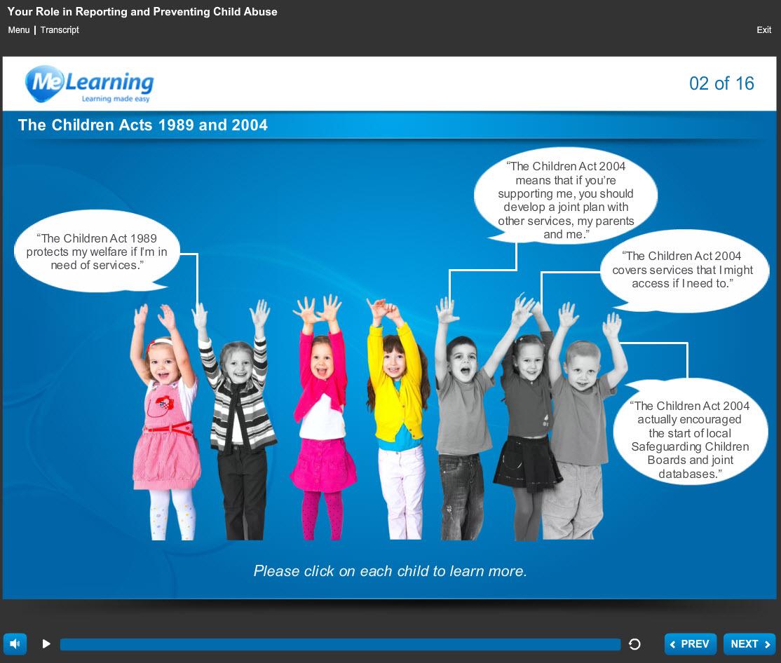 Safeguarding Awareness - For Higher Education Course Slide 2 of 16